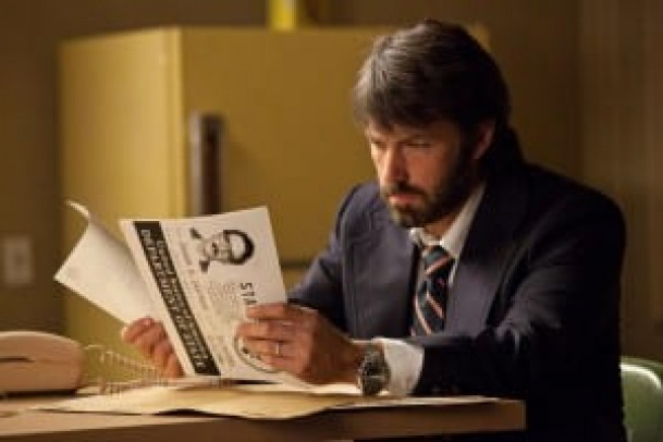 "BEN AFFLECK as Tony Mendez in Warner Bros. Pictures' and GK Films' dramatic thriller ""ARGO,"" a Warner Bros. Pictures release."