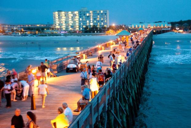 Folly Beach Pier Moonlight Mixer